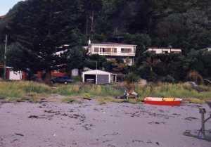 yacht at Makorore